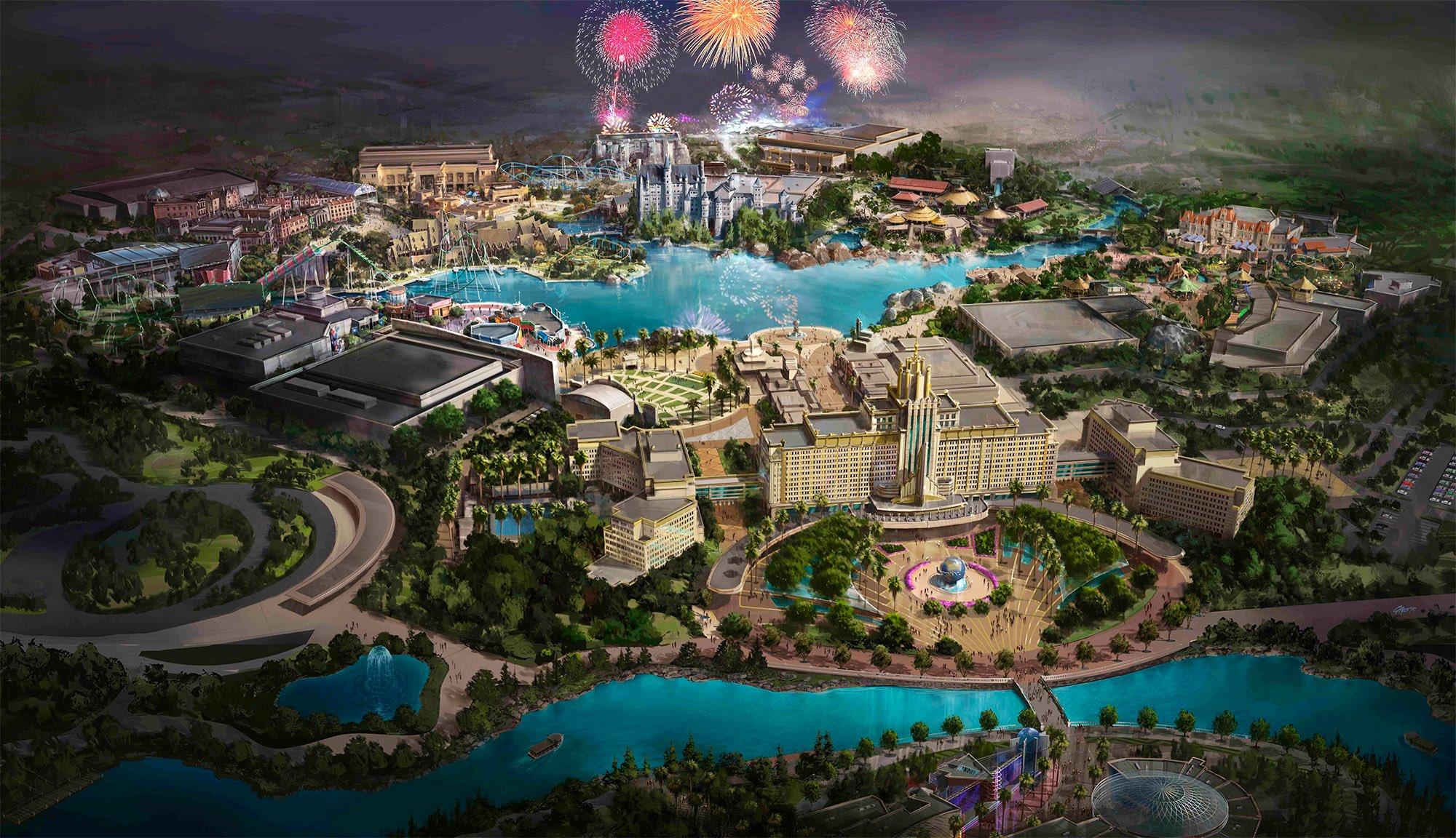 Parque Temático Universal Studios de Pekín