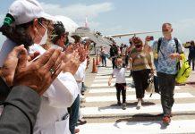 Turistas rusos arribaron a Margarita
